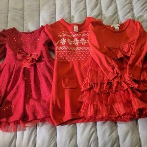 4t Christmas dresses.